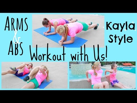 Poolside Workout with Marissa | Arms & Abs