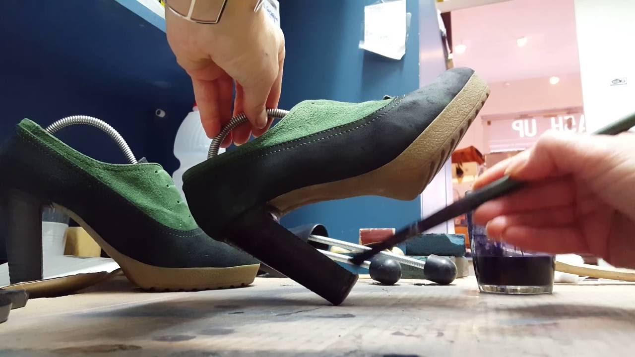 5e9ea250fb0ab2 Le tinture su scarpe di Wash Up - YouTube