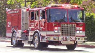 LAFD Engine & Rescue 29 (x2)