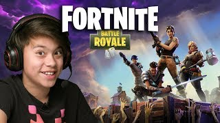 FORTNITE BATTLE ROYALE!!! He's Gotta Gun...RUUUUUUUUN!!!