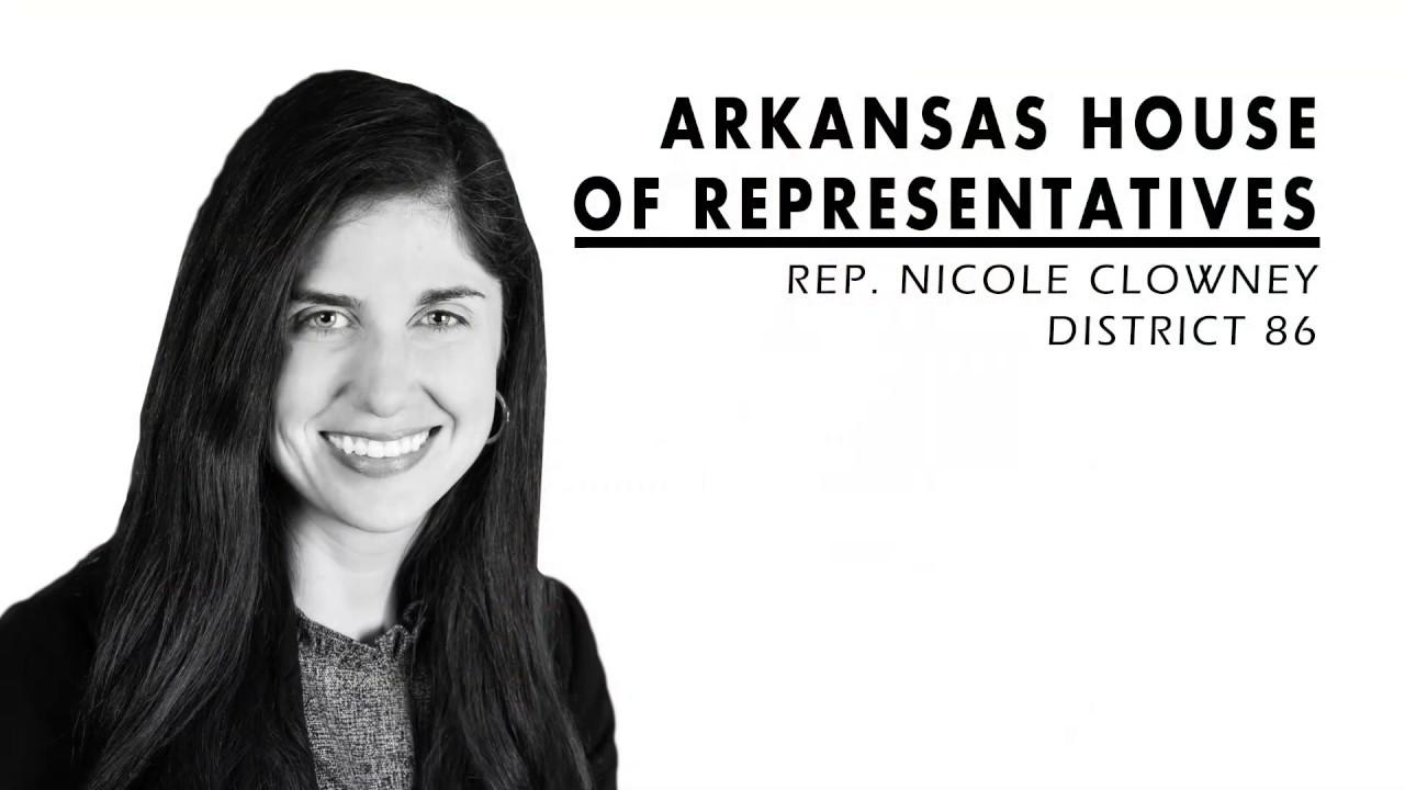 Nicole Clowney - Arkansas House of Representatives