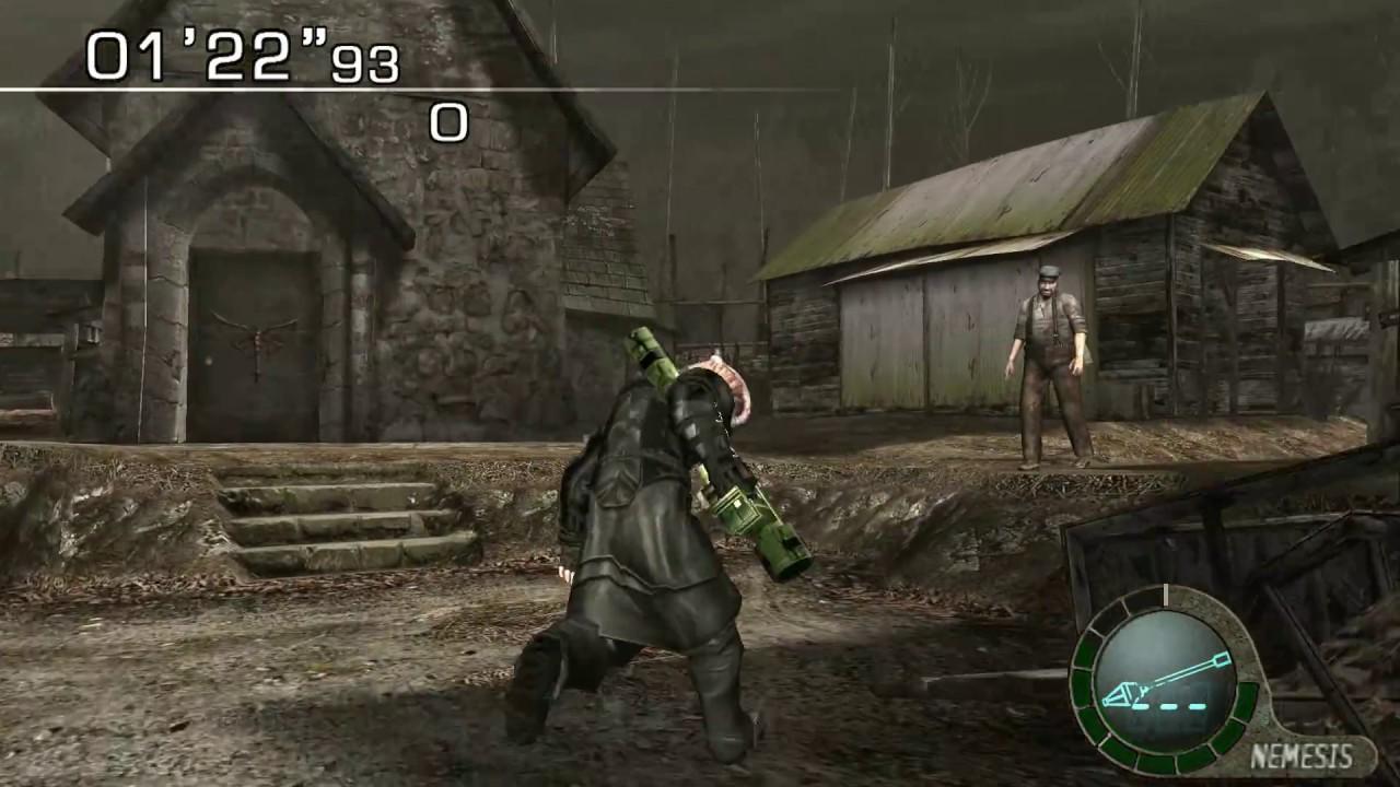 Resident Evil 4 (PC) (2007) - NEMESIS Preview : Village Mercenaries