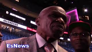 (Epic) Floyd Mayweather Sr Must See Interview Post Mayweather McGregor