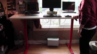 Adjustable Stand-up Desk By Multitable