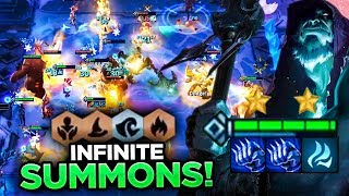 OCEAN MAGES WITH INFINITE SUMMONS! HUGE ARMY! | TFT | Teamfight Tactics