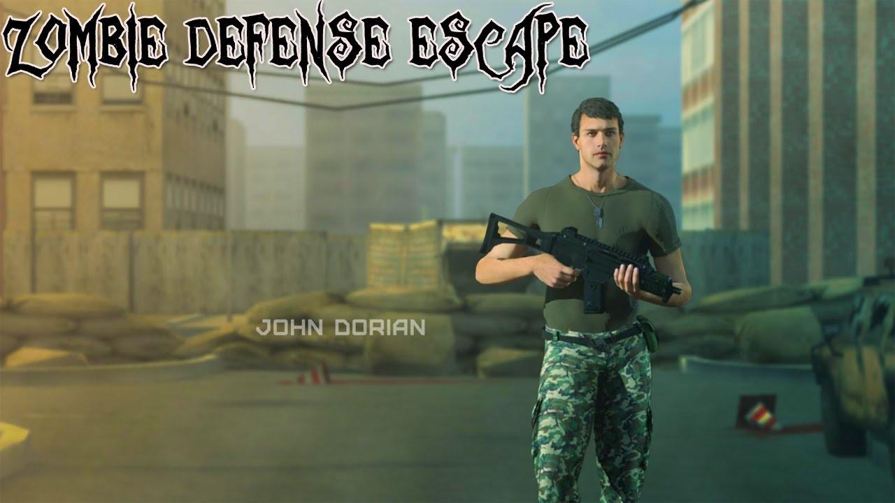Zombie Defense Escape Android Gameplay u1d34u1d30