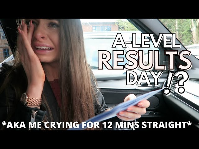 OPENING MY A LEVEL RESULTS (spoiler: I cry) live reaction 2019 | HelloAmyy