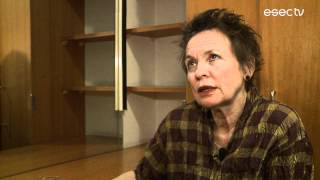 "Laurie Anderson | ""DIRTDAY!"": full interview (Coimbra)"