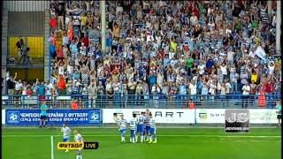 Севастополь - Шахтер 1:3. Украинская Премьер-Лига 2013/14. 2 тур