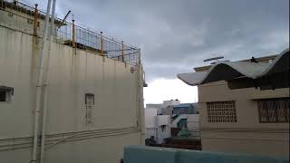 Dark Clouds passing over my House KOARC Dindigul