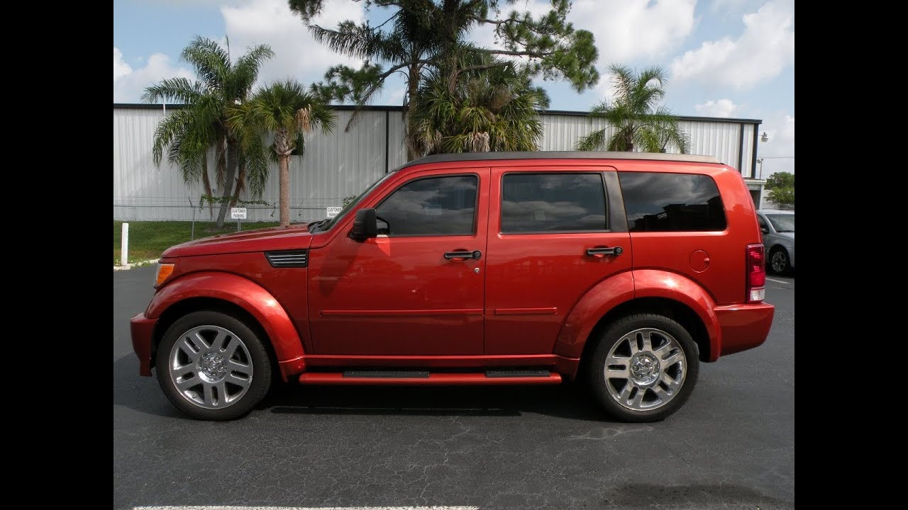 2008 dodge nitro r t 4wd fort myers florida for sale in fo youtube. Black Bedroom Furniture Sets. Home Design Ideas