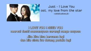 Скачать INDOSUB Just I Love You OST My Love From The Star