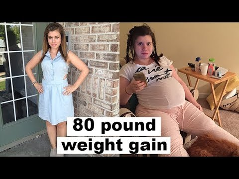 weight gain before and after pregnancy