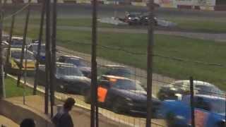 Bandit Feature, Rockford Speedway, 25JUN2014