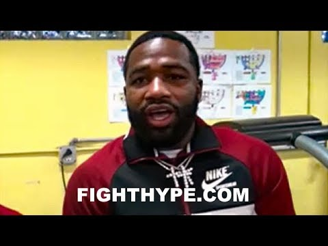 "ADRIEN BRONER REVEALS DEVON ALEXANDER ""IS BACK""; INSISTS HE'LL BE CHAMP AGAIN: ""OLD DEVON'S BACK"""