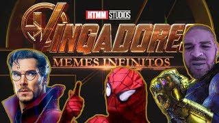 Vingadores MEMES INFINITOS | Trailer Paródia