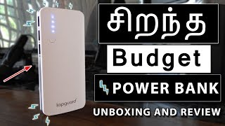 Budget Power Bank Lapguard Sailing-1510 POWER BANK 13500mah Unboxing and Review