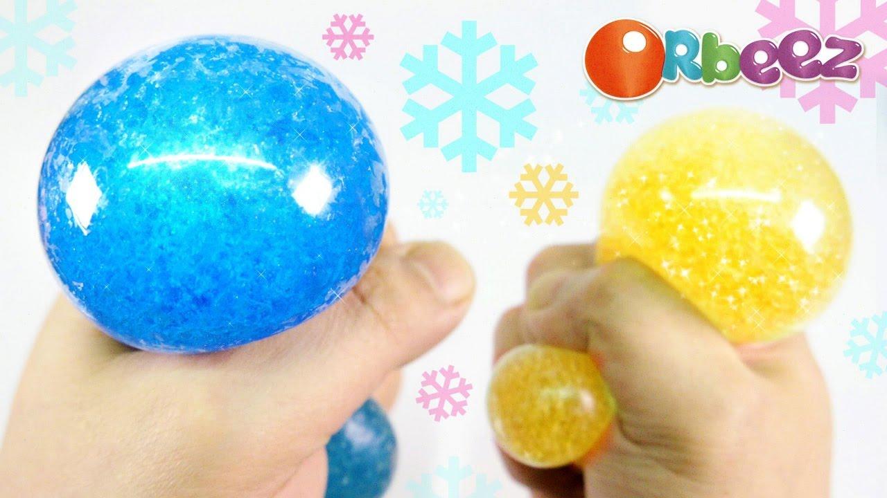 Diy Squishy Stress Ball : DIY Orbeez Crush Stress Ball ! Slush Squishy Stretchy Balls MonsterKids - YouTube