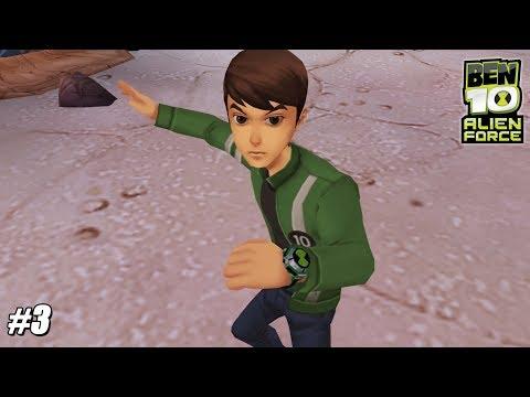 Ben 10: Alien Force - PSP Playthrough Gameplay 1080p Bombs Away! (PPSSPP) PART 3