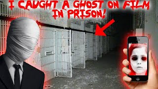 I RETURNED TO THE HAUNTED ABANDONED PRISON & CAUGHT A GHOST ON CAMERA! CELL 13!