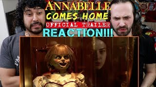 ANNABELLE COMES HOME - Official TRAILER - REACTION!!!