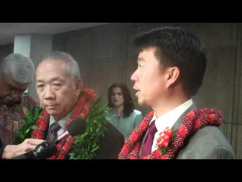 Senate President Tsutsui on Gov