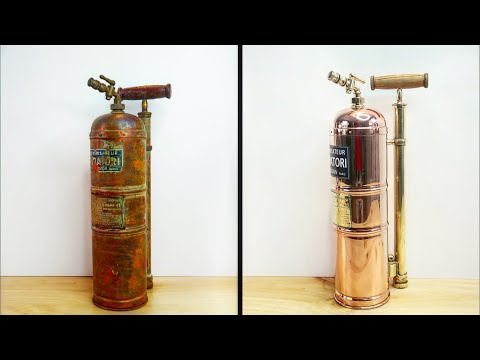 Fire fighters Extinguisher 🧯? - Restoration