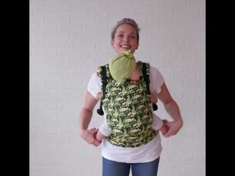 Camosaur Free To Grow Baby Carrier
