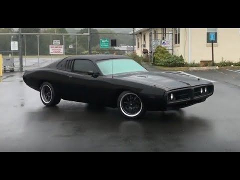 1973 Dodge Charger Se Murdered Out Youtube