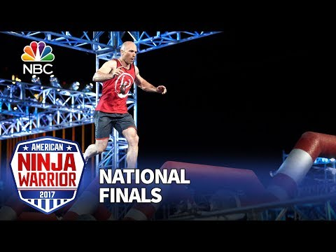 David Campbell at the Las Vegas National Finals: Stage 1 - American Ninja Warrior 2017