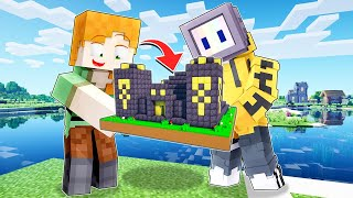 LOGGY FOUND TINY NETHERITE ORES ARE STRUCTURES | MINECRAFT