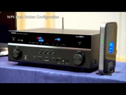 AV Receiver Wi-Fi Set Up: Yamaha RX-V579, Yamaha RX-V679