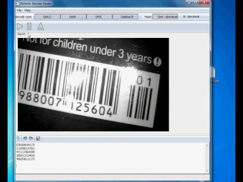 How to Read Barcodes With a Webcam and Katanshi Barcode Reader