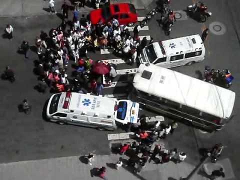 Accidente en la Calle 73 - YouTube