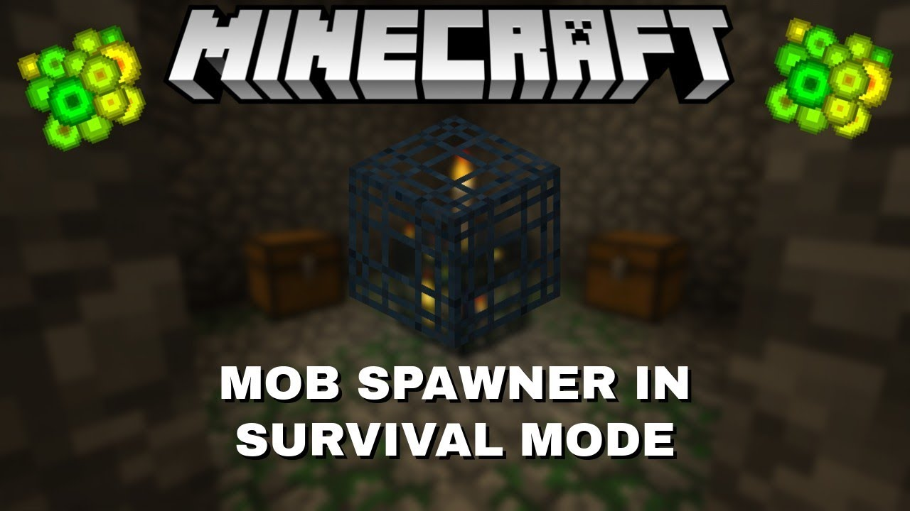 how to pick up a mob spawner