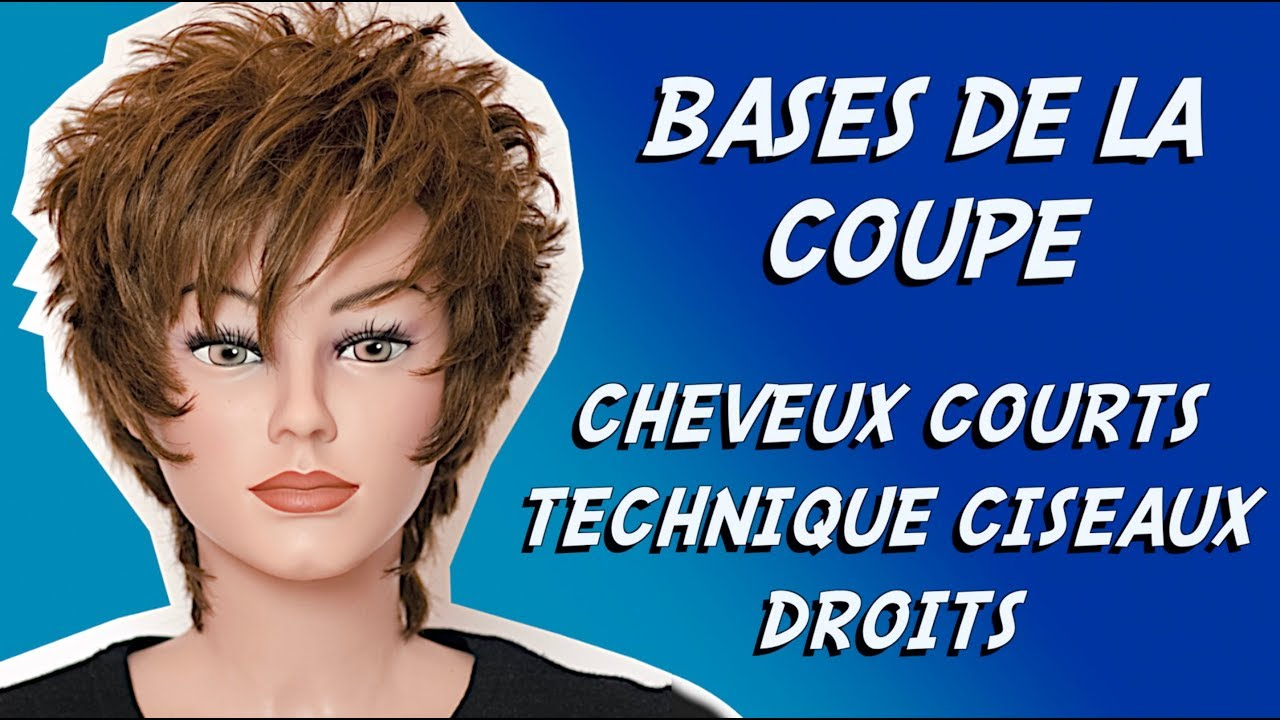 Coupe Cheveux Courts Bases Of The Cut 8 Guided Wick Initiation