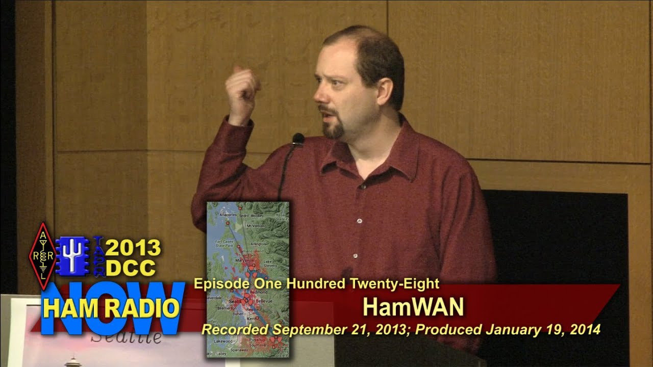 Episode 128 from the DCC: HamWAN - 6 GHz Network for Amateur Radio