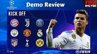 FIFA 19 Demo Tips & Tricks (Review)
