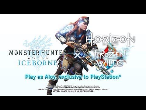 """""""Monster Hunter World: Iceborne"""" schickt Aloy auf die Jagd"""