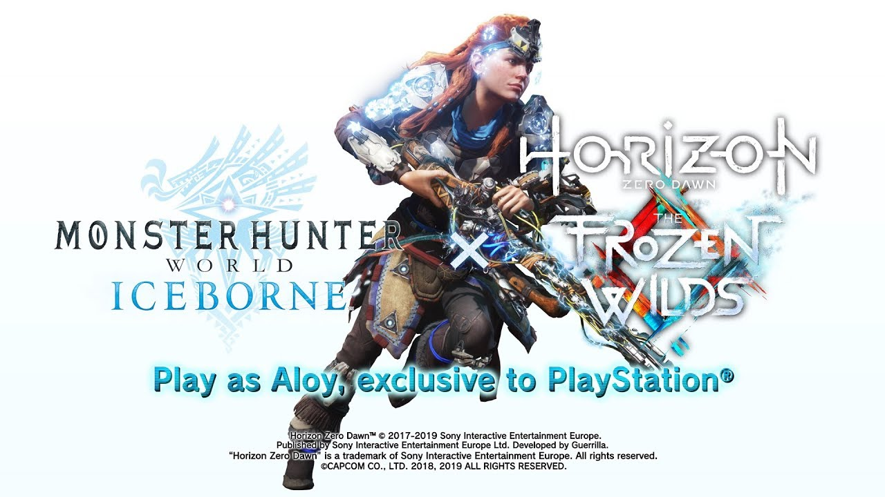 Horizon Zero Dawn S Aloy Is Returning To Monster Hunter World With
