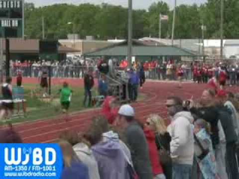2010 Jr. High Class S Track Meet in Salem, IL