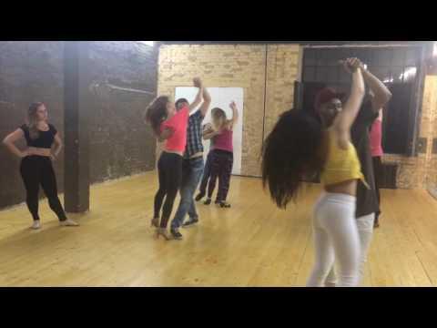Brazilian Zouk class at Rio Dance Academy with Jorge Maryano