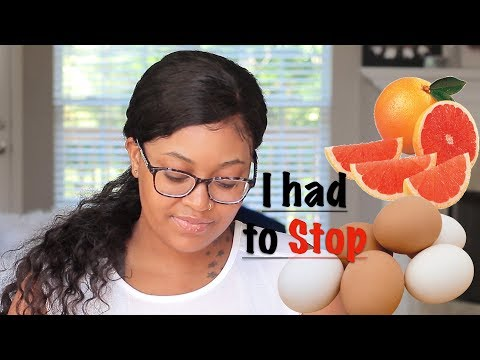 LOSING 20LBS IN 7DAYS | GRAPEFRUIT AND EGG DIET + WHY I STOPPED