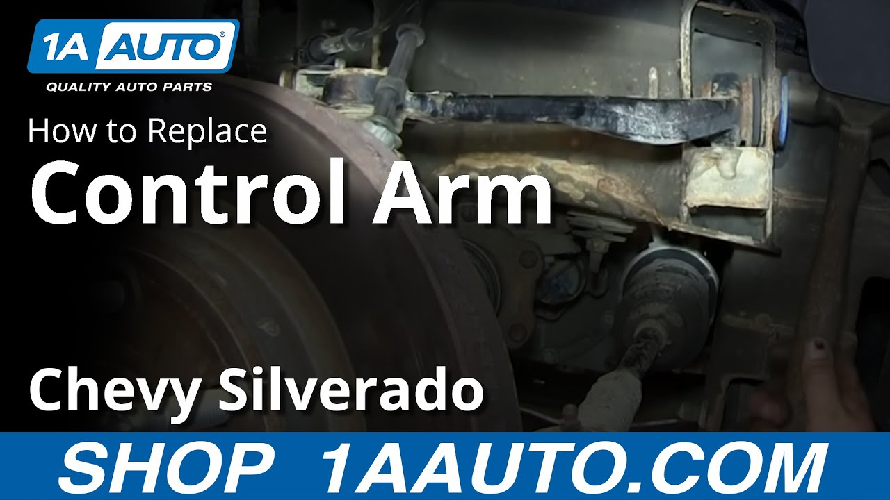 how to replace control arms 07 15 chevy silverado 1a auto parts [ 1280 x 720 Pixel ]