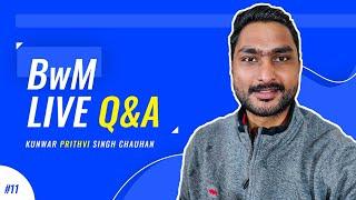 11th BwM Live Q&A on Startups & Entrepreneurship