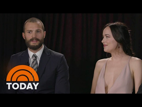 Dakota Johnson: Jamie Dornan And I Were 'Forced Into Being Best Friends | TODAY