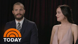 Dakota Johnson: Jamie Dornan And I Were 'Forced Into Being Best Friends' | TODAY
