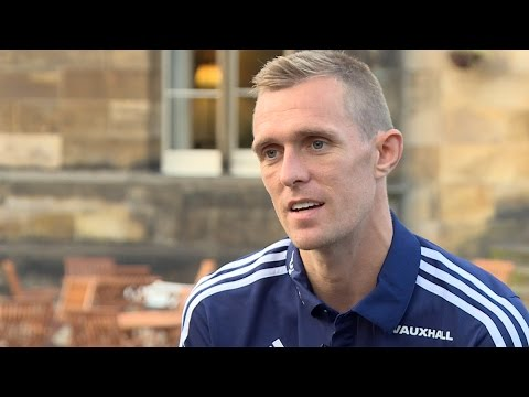 Darren Fletcher looks ahead to 75th cap