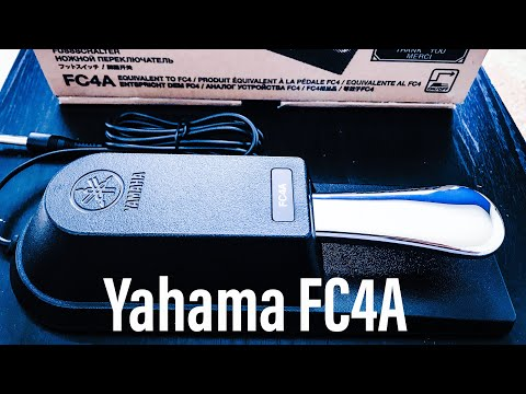 Yamaha FC4A Sustain Pedal (Initial Thoughts & Comparison!)