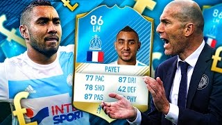 THE ANGRIEST PLAYER EVER! THE DIMITRI PAYET MARSEILLE TRANSFER SQUAD! FIFA 17 ULTIMATE TEAM
